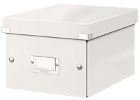 6043-00-01 - ACCO Leitz Click & Store Single A5 Storage Box - White - Small Size