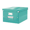 6044-00-51 - ACCO Leitz Click & Store A4 Storage Boxes - Ice Blue - Medium Size
