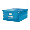 6045-00-36 - Pack of 6 - ACCO Leitz Click & Store A3 Storage Boxes - Metallic Blue - Large Size