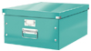 6045-00-51 - Pack of 6 - ACCO Leitz Click & Store A3 Storage Boxes - Ice Blue - Large Size