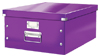 6045-00-62 - Pack of 6 - ACCO Leitz Click & Store A3 Storage Boxes - Purple - Large Size
