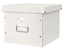6046-00-01 - Esselte Leitz White Click & Store Suspension File Box - Pack of 6