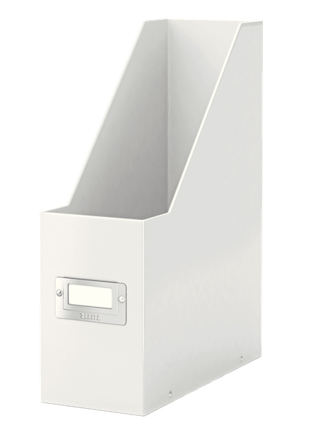 6047-00-01 - Pack of 6 - ACCO Leitz Click & Store Magazine File - White