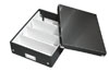 6058-00-95 - Esselte Leitz Black Click & Store A4 Organiser Box - Medium - Pack of 6