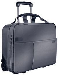 60590084 - Leitz Complete Smart Traveller Carry-On Trolley, cabin size ideal for mobile devices, clothing etc.