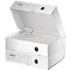 6100-00-00 - Infinity 80mm Horizontal Archive Box White - Discontinued by Leitz/ACCO