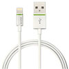 62130001 - Leitz Complete Lightning to USB Cable - 2m Length - White, Apple Certified