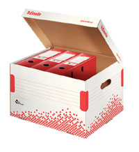 623914 - Esselte Speedbox Storage and Transportation Box for Binders - Pack of 15