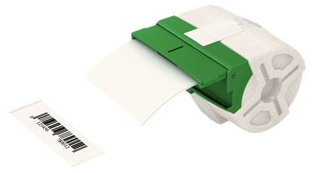 70270001 - Leitz Icon Intelligent Label Cartridge 88 mm x 22m, Easy to remove non-permanent adhesive.