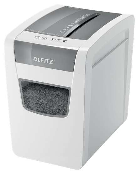 80011000 - Leitz IQ Slim Home Office Shredder P4, Cross Cut Shredder
