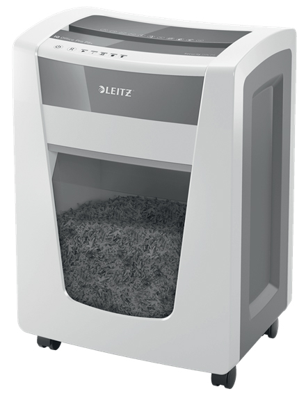 80041000 - Leitz IQ Office Pro Shredder P5 +, Super Micro Cut Security P5+ *Free Luggage Offer*