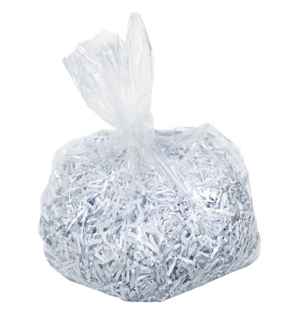 80080000 - Leitz IQ Polybags for Shredders -  holds up to 40L of shredding.