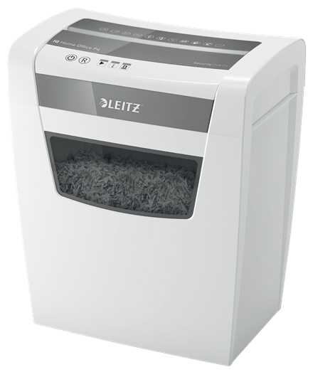 80091000 - Leitz IQ Home Office Shredder P4, Cross Cut Shredder *Free Delivery*