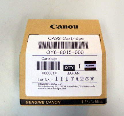 QY68015 - Genuine Canon QY6-8015-000 Refillable Colour Print Head for G1500 G2500 G3500 G4500 - CA92