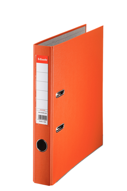 81171 - Esselte Essentials Lever Arch File - Box of 25, Orange - A4 Format, 50mm Spine width