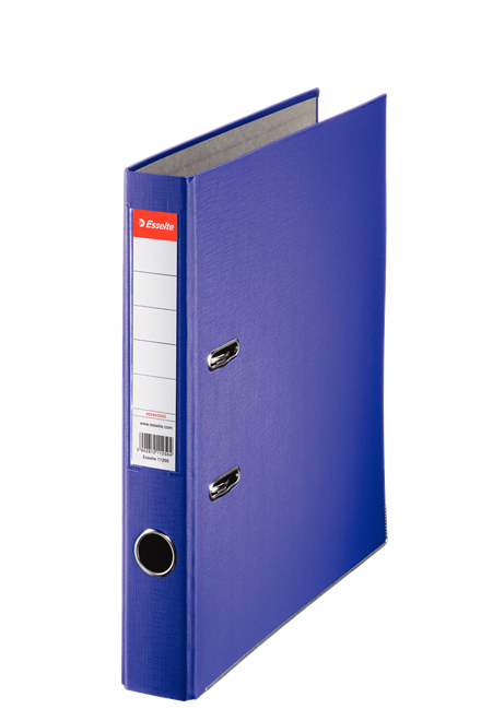 81174 - Esselte Essentials Lever Arch File - Box of 25, Violet - A4 Format, 50mm Spine width