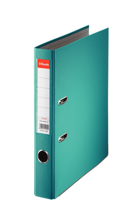 81175 - Esselte Essentials Lever Arch File - Box of 10, Turquoise - A4 Format, 50mm Spine width