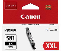 1998C001 - Genuine Canon CLI-581BK XXL Black Ink Tank - Extra High Yield Cartridge - 11.7ml