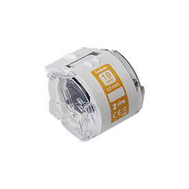 29484J - Brother CZ1003 19mm Roll Cassette for use with the Brother VC-500W Colour Label Printer
