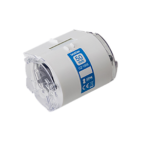 29486J - Brother CZ1005 50mm Roll Cassette for use with the Brother VC-500W Colour Label Printer