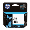 C2P04AE - Original HP 62 Standard Black Ink Cartridge - 200 Copies (4ml)