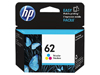 C2P06AE - Original HP 62 Standard Colour Ink Cartridge - 165 Copies (4.5ml)