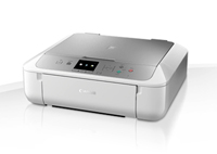 0557C068 - Canon Silver/White PIXMA MG5753 Inkjet Photo Printer