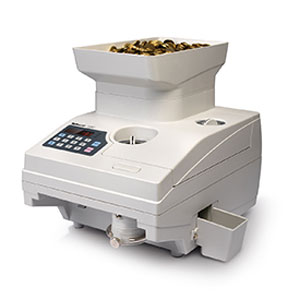 Safescan 1550 - Safescan 1550 Highspeed Coin Counting machine, up to 2,300 coins per minute.