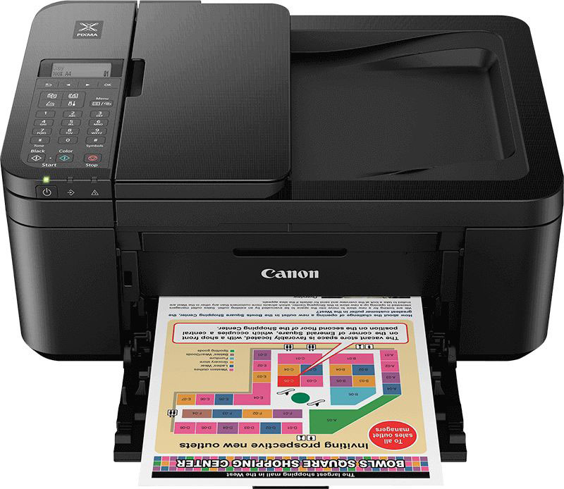 2984C008 - Canon TR4550 Printer, Wireless, High Quality Print, Copy, Scan, Fax