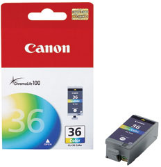 1511B001 - Canon CLi-36 Colour Ink Cartridge for iP-100 & iP-110