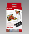 7741A001 - Canon KC-18IF Card Size Label Set