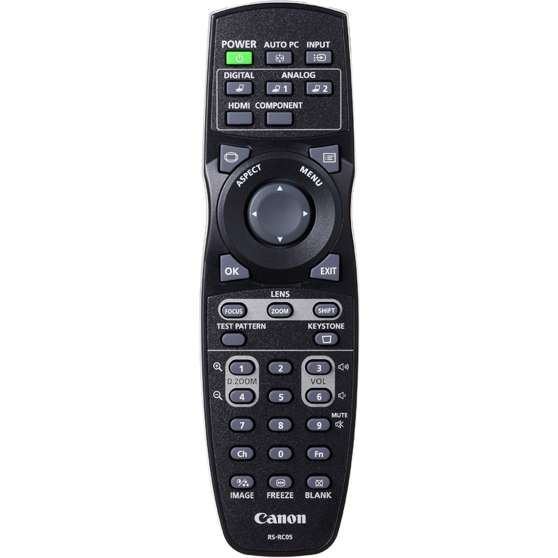 5750B001 - Canon RS-RC05 Remote Control for WX6000 & SX6000 Projectors