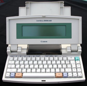 word processing machine for writers