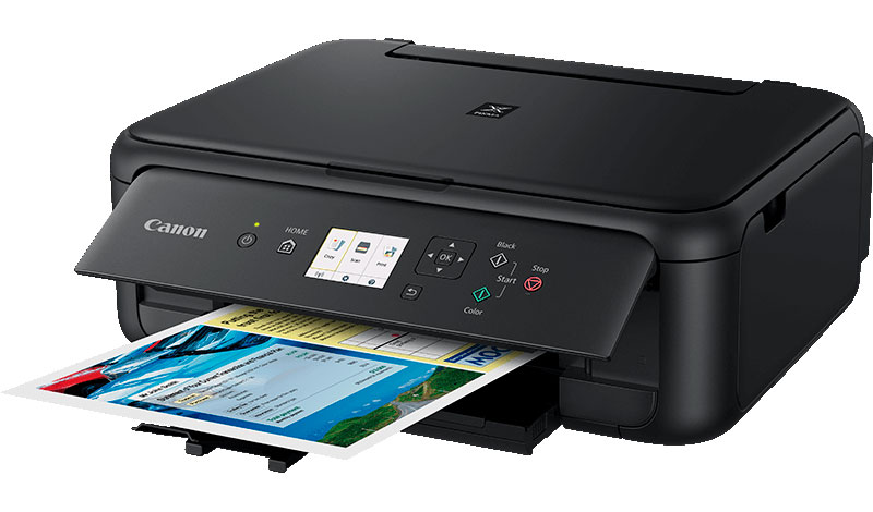 Canon PIXMA TS5150 Black Wireless All-in-One Inkjet Printer